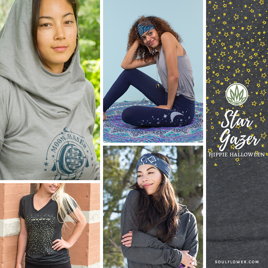 DIY Hippie Outfit - Star Gazer