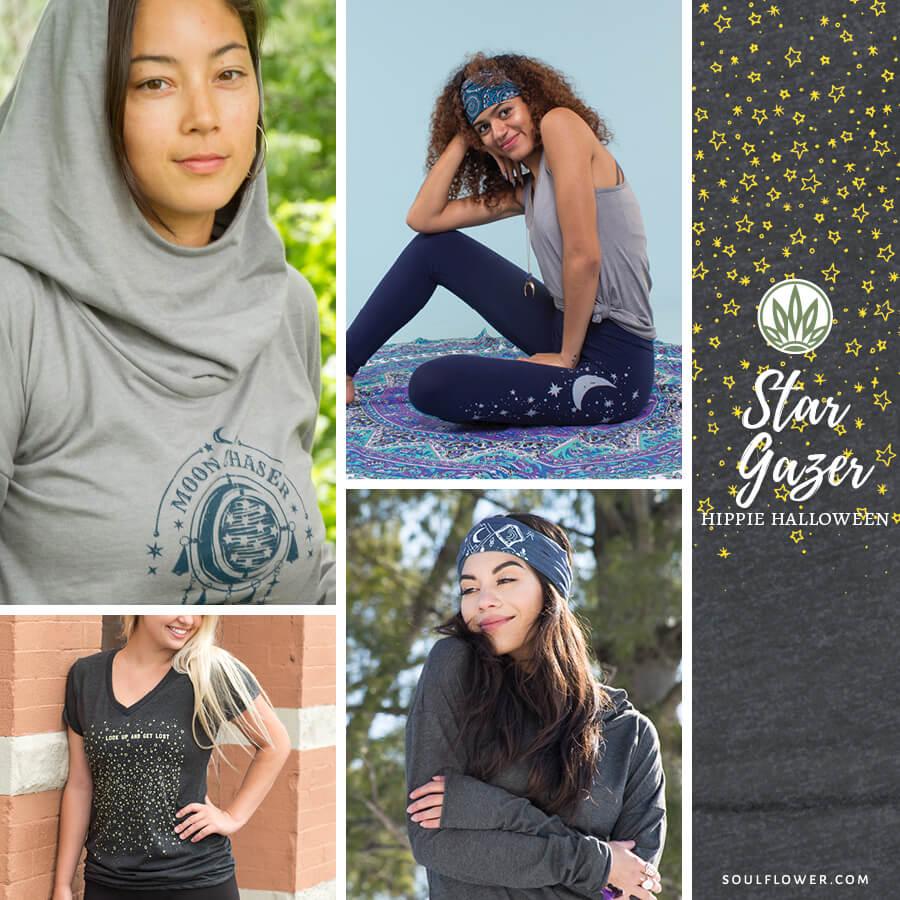 diy hippie halloween outfit star gazer - DIY Hippie Outfit Ideas - Hippie Outfits for Every Day