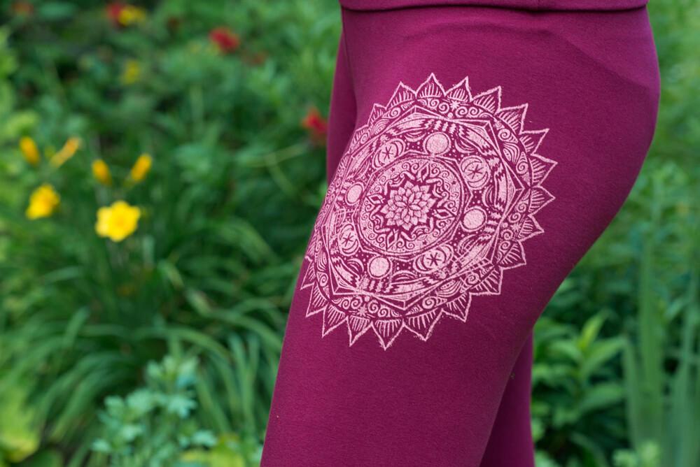 earth mandala art leggings - The Art of Leggings