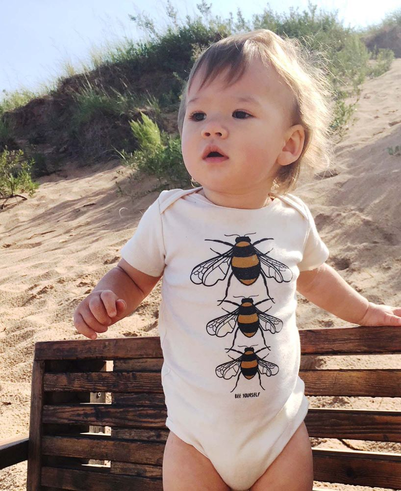 Eco Baby Gifts - Bee Yourself Onesie