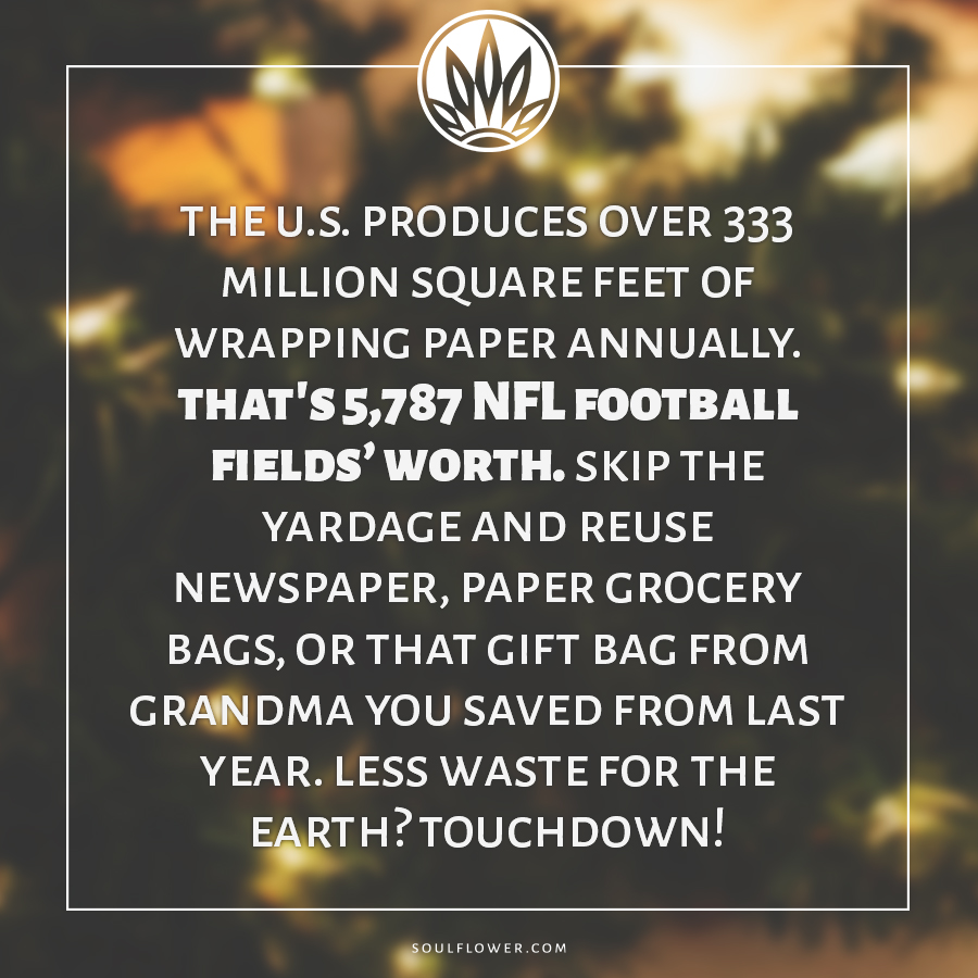 eco fact wrapping - Eco Friendly Gift Wrap - DIY Gift Wrapping