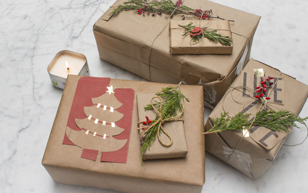 eco friendly gift wrap diy gift wrapping 4 - Eco Friendly Gift Wrap - DIY Gift Wrapping