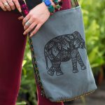 elephant crossbody bag 150x150 - Elephant Symbolism - Elephant Spirit Animal