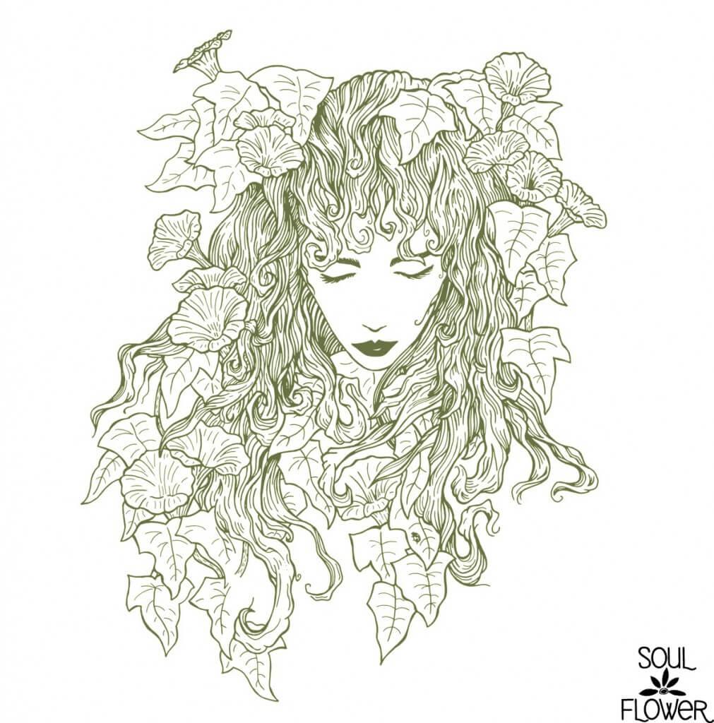 flowergirl 3 1011x1024 - Behind the Design: Free Spirit