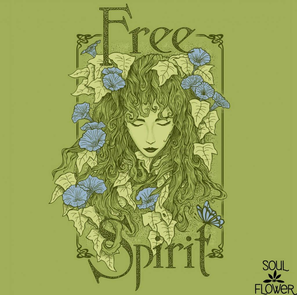 Behind the Design: Free Spirit - Soul Flower Blog