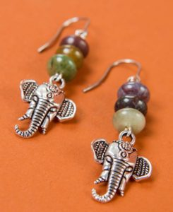 free spirit gifts elephant earrings 245x300 - Gifts for Free Spirits - Cool Boho Gifts