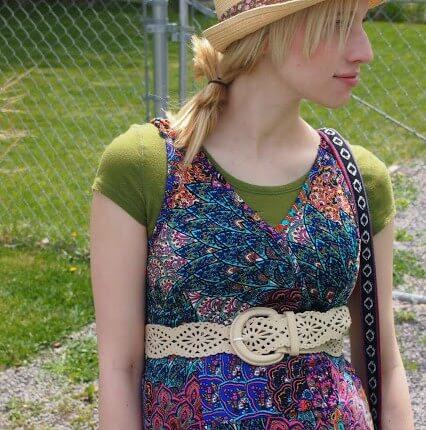 front shot of pasiley dress 426x430 - Embroidered Screen Door
