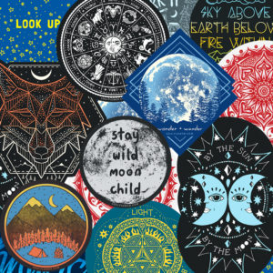 full moon stickers 300x300 - 2020 Full Moon Calendar - Full Moon Advice