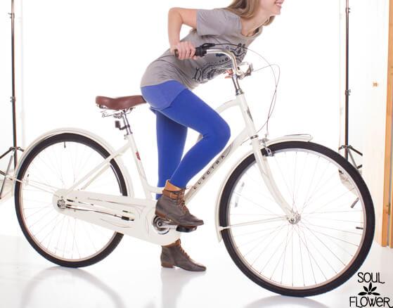Soul Flower Bike Mandala T-shirt