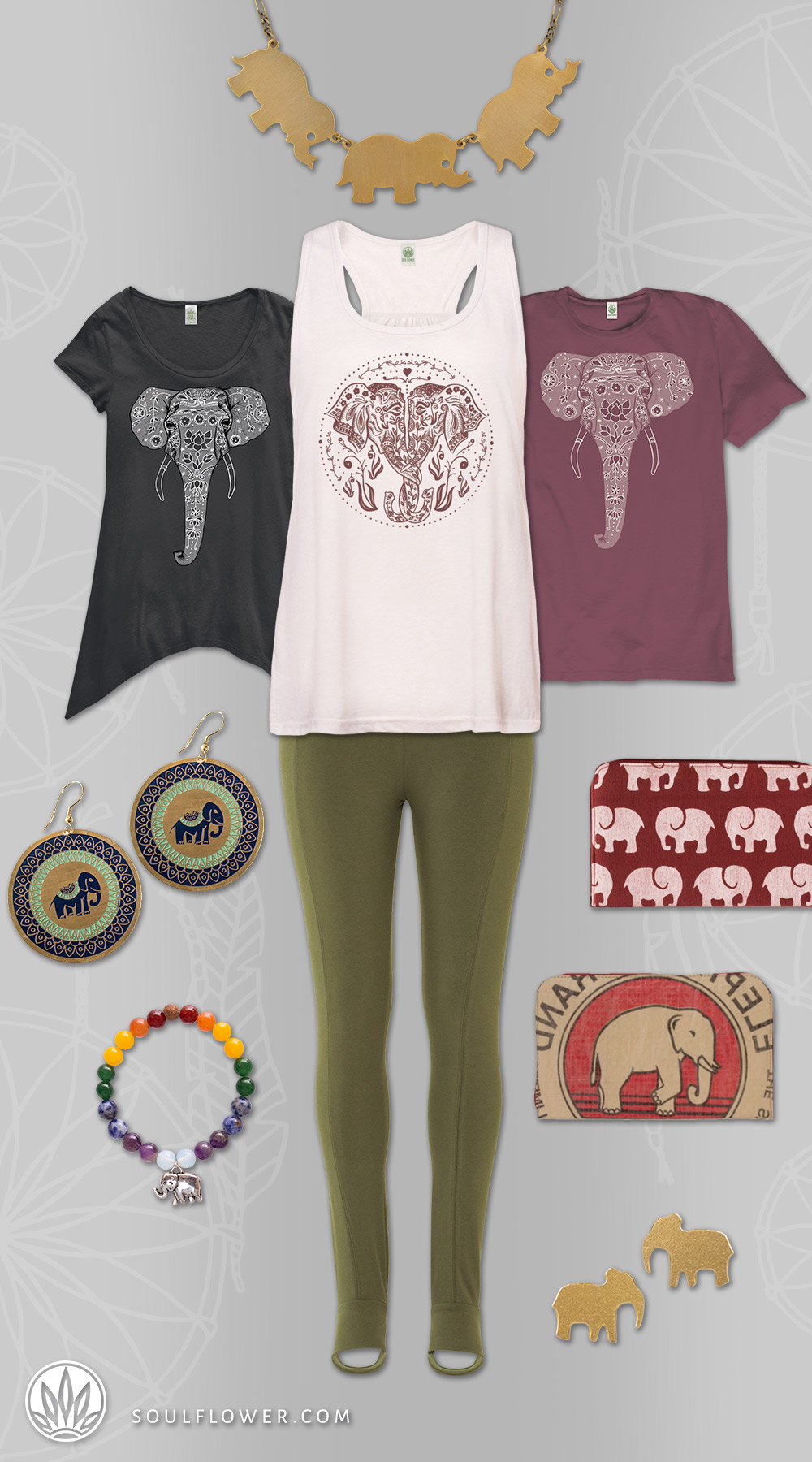 Gifts for Elaphant Lovers | Elephant Lovers Gifts | Soul Flower
