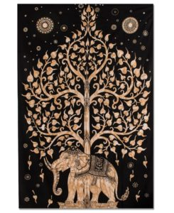 gifts for free spirits elephant tapestry 245x300 - Gifts for Free Spirits - Cool Boho Gifts