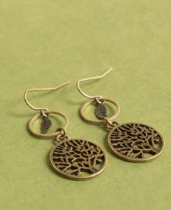 Gifts for Free Spirits - Tree Earrings