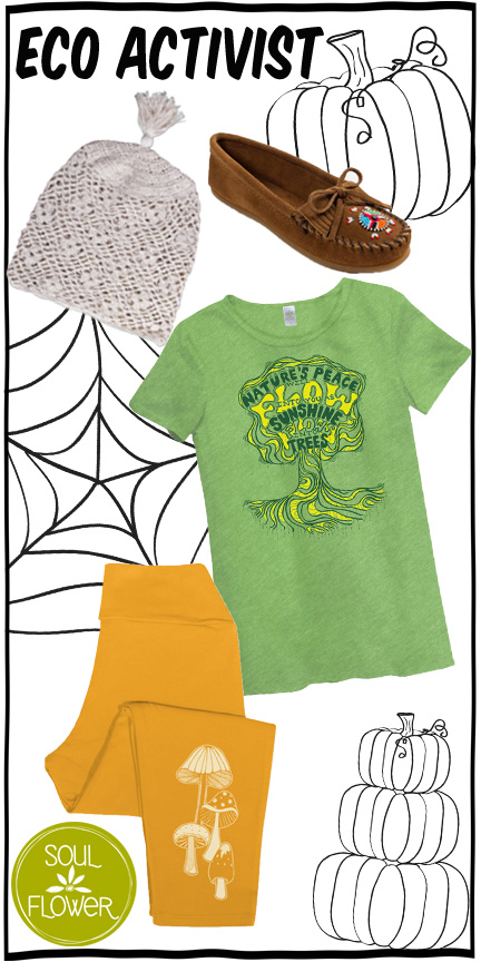 5 Off Beat, Eco-Friendly Halloween Costumes - Soul Flower Blog