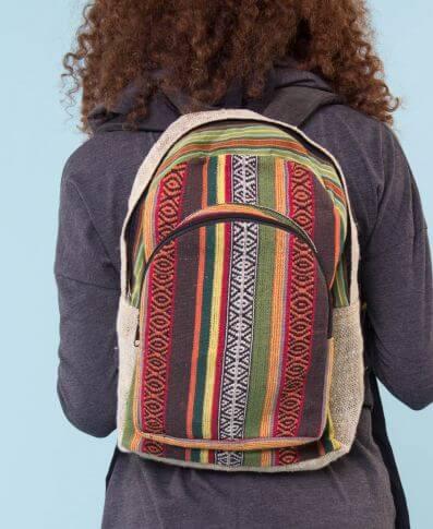 Hemp Gifts | Unique Hemp Gift Ideas | Hemp Backpack