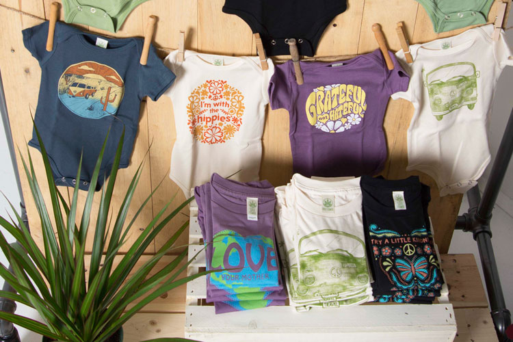 hippie merchandising display baby2 - DIY Retail Display Ideas to Try in Your Shop