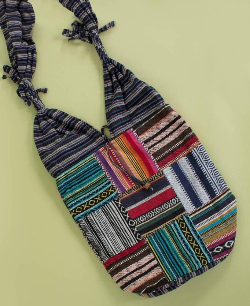 Hippie Tote Bag Hippie Hobo Bag