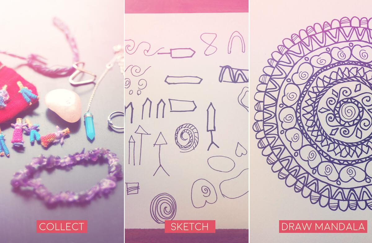 how to draw a personal mandala three steps - Draw a Personal Mandala - Drawing a Mandala