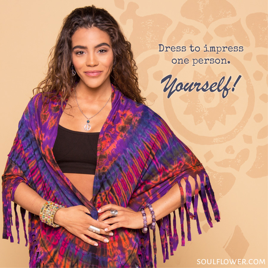 how to dress like a hippie 2 - How to Dress Like A Hippie? Simply Be Yourself!