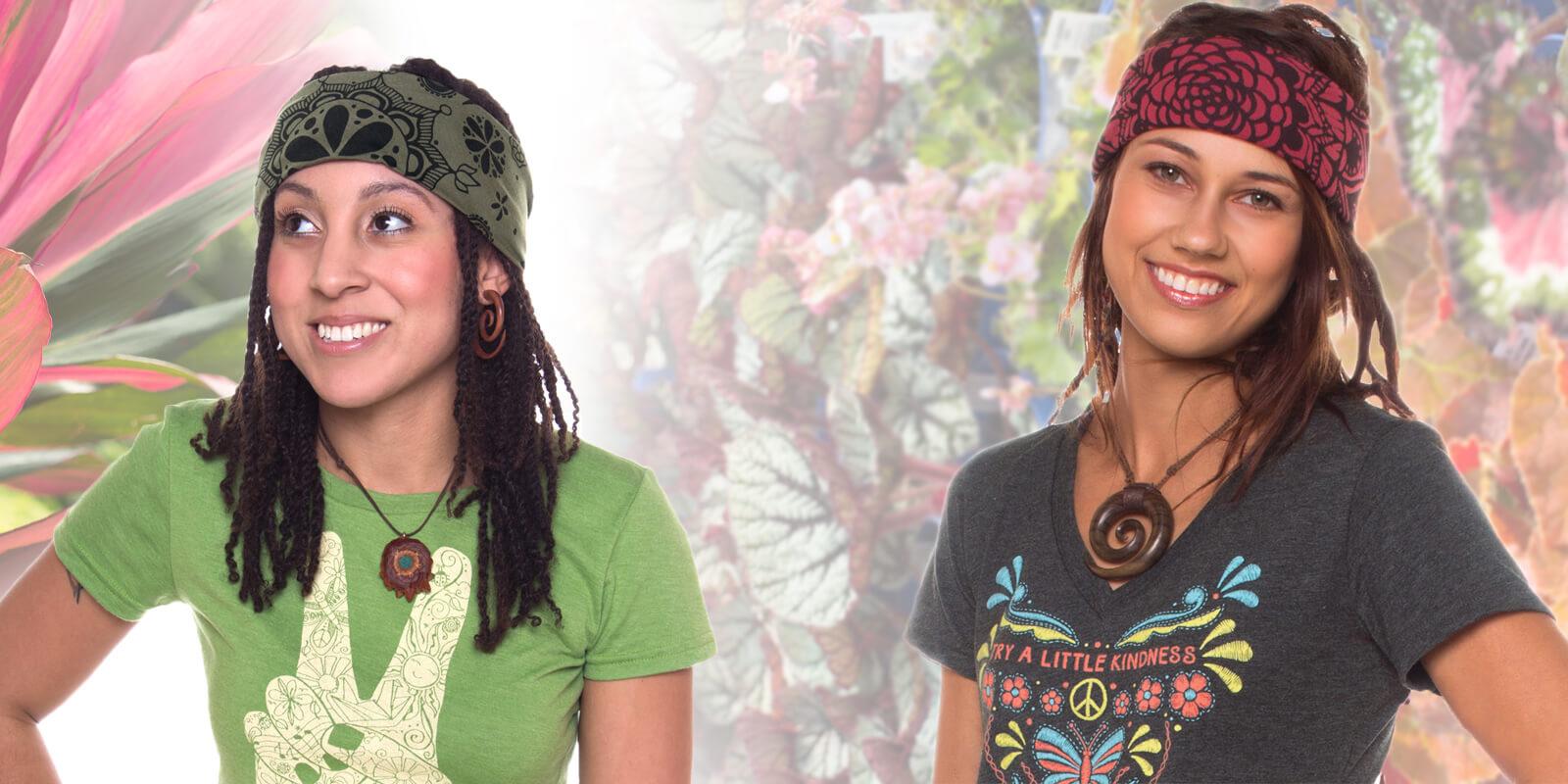 How to Wear a Bandana - The Hippie Headband