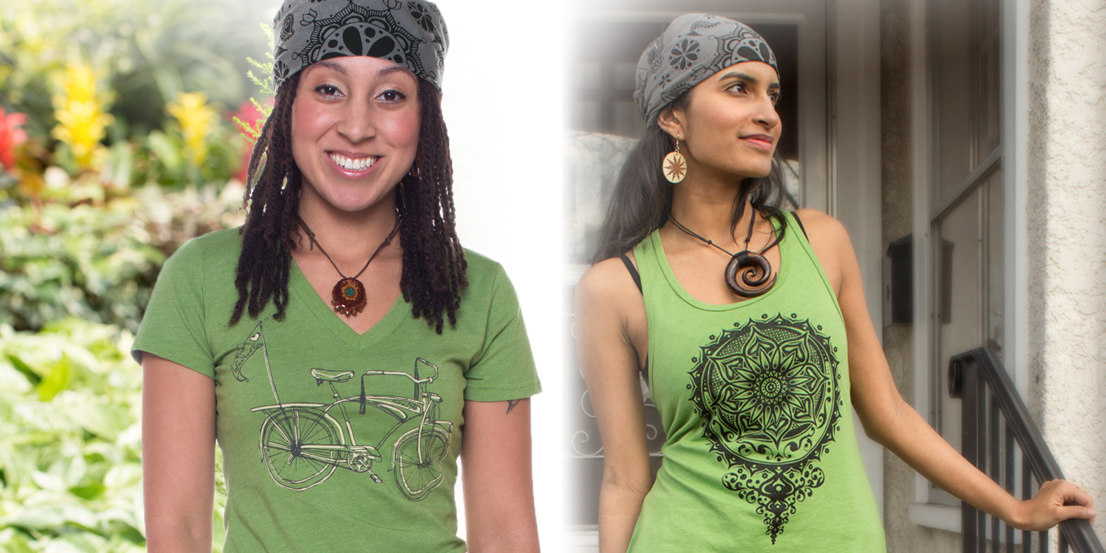 How to Wear a Bandana - The Hippie Wrap