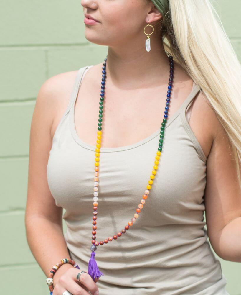 Wear a Mala Necklace Long | How to Wear a Mala
