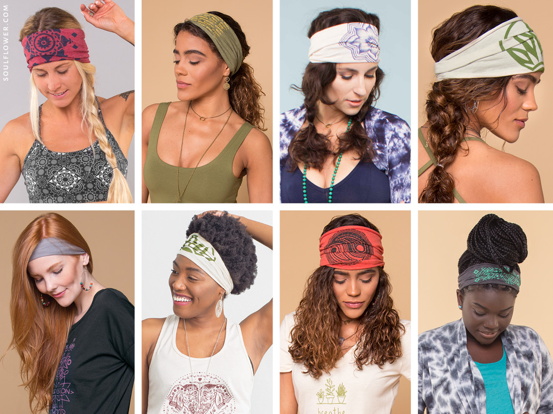 how to wear a thick headband 8 - How to Wear a Thick Headband - Boho Headbands