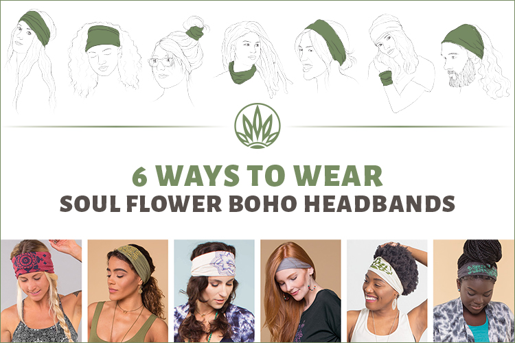 how to wear a thick headband preview - How to Wear a Thick Headband - Boho Headbands