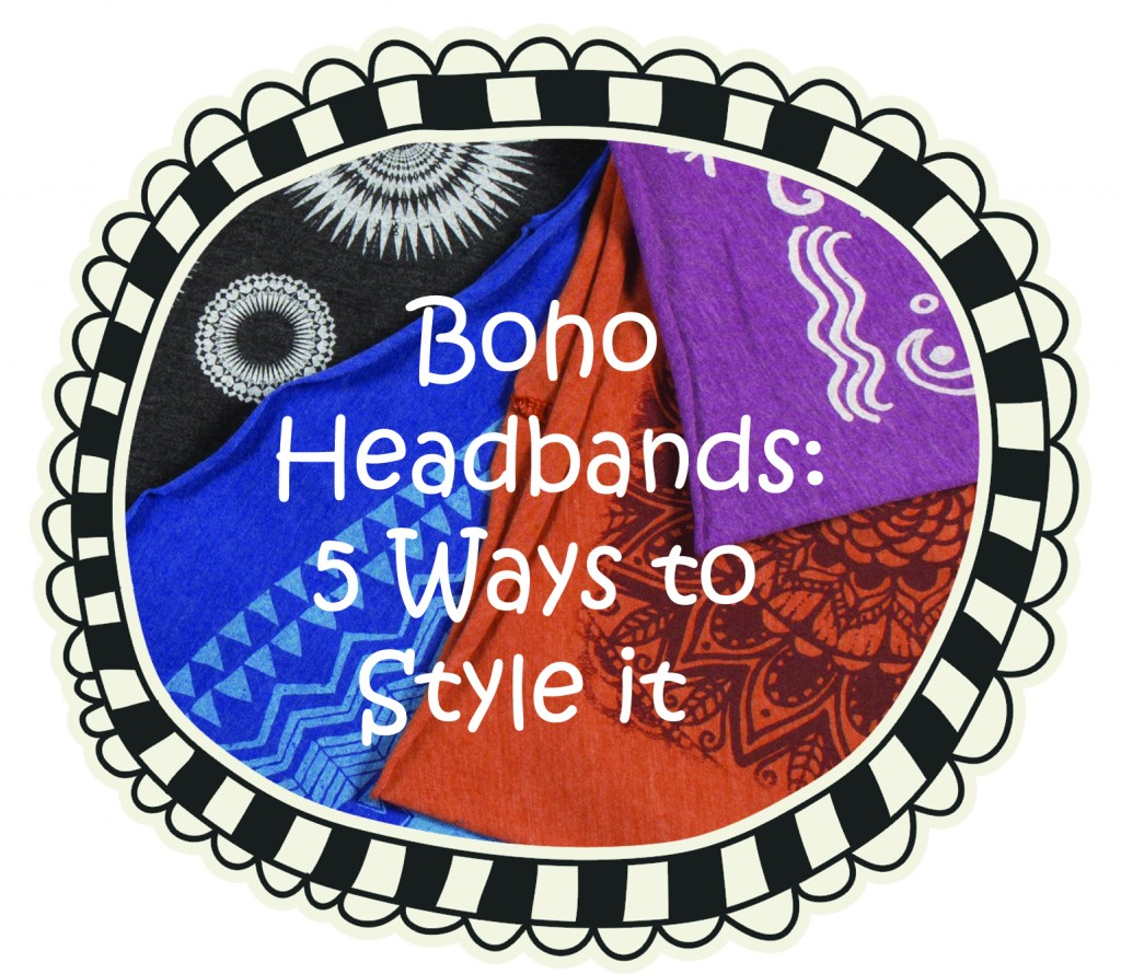 How to Wear a Wide Headband - Boho Headbands