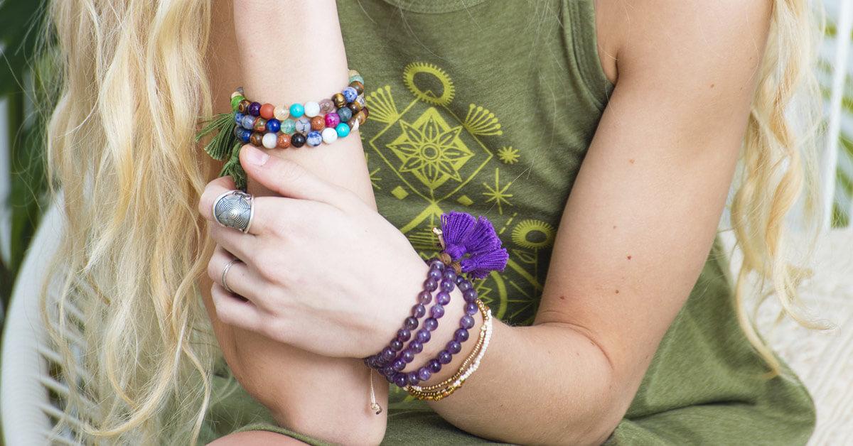 How to Wear Mala Beads