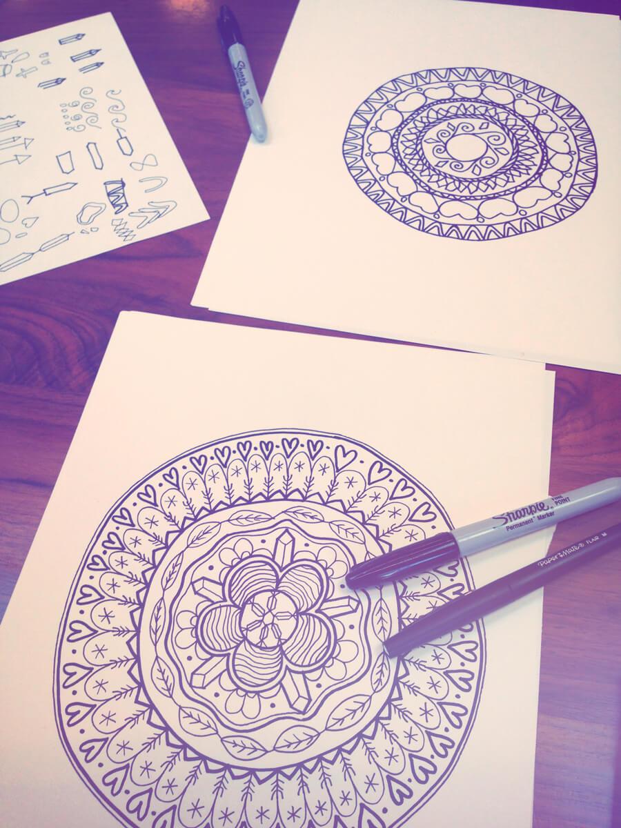 mandala 2 - Draw a Personal Mandala - Drawing a Mandala