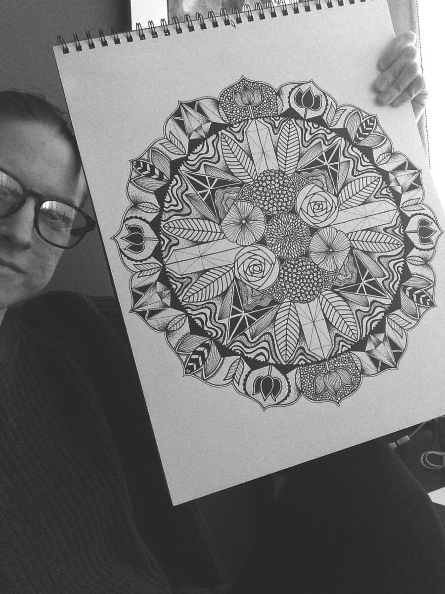 mandala artist - Behind the Art: Sacred Place Mandala