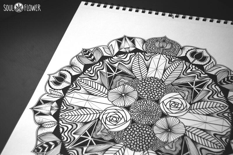 mandala sketchbook - Behind the Art: Sacred Place Mandala