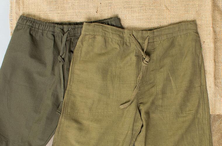 mens hemp pants lounge pants - Hemp Clothing Benefits - A Sustainable Choice!