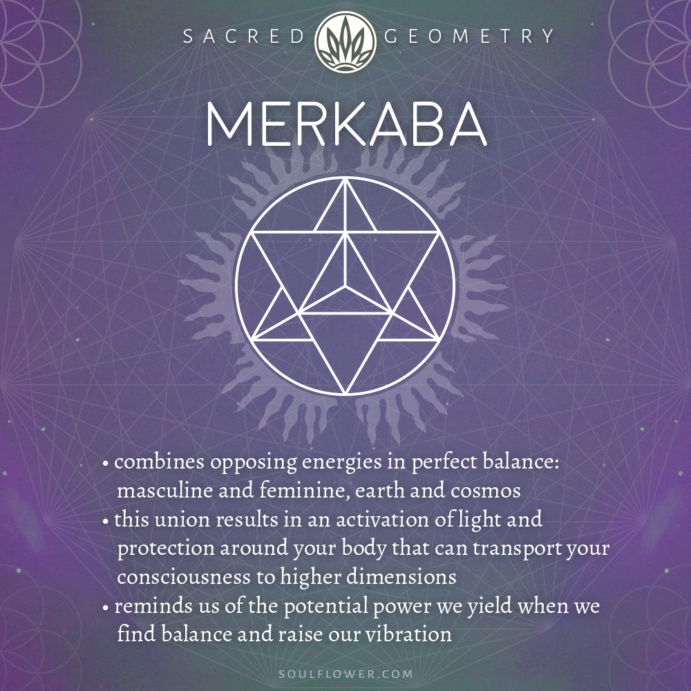What is Sacred Geometry - Merkaba