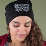 Owl Slouch Beanie
