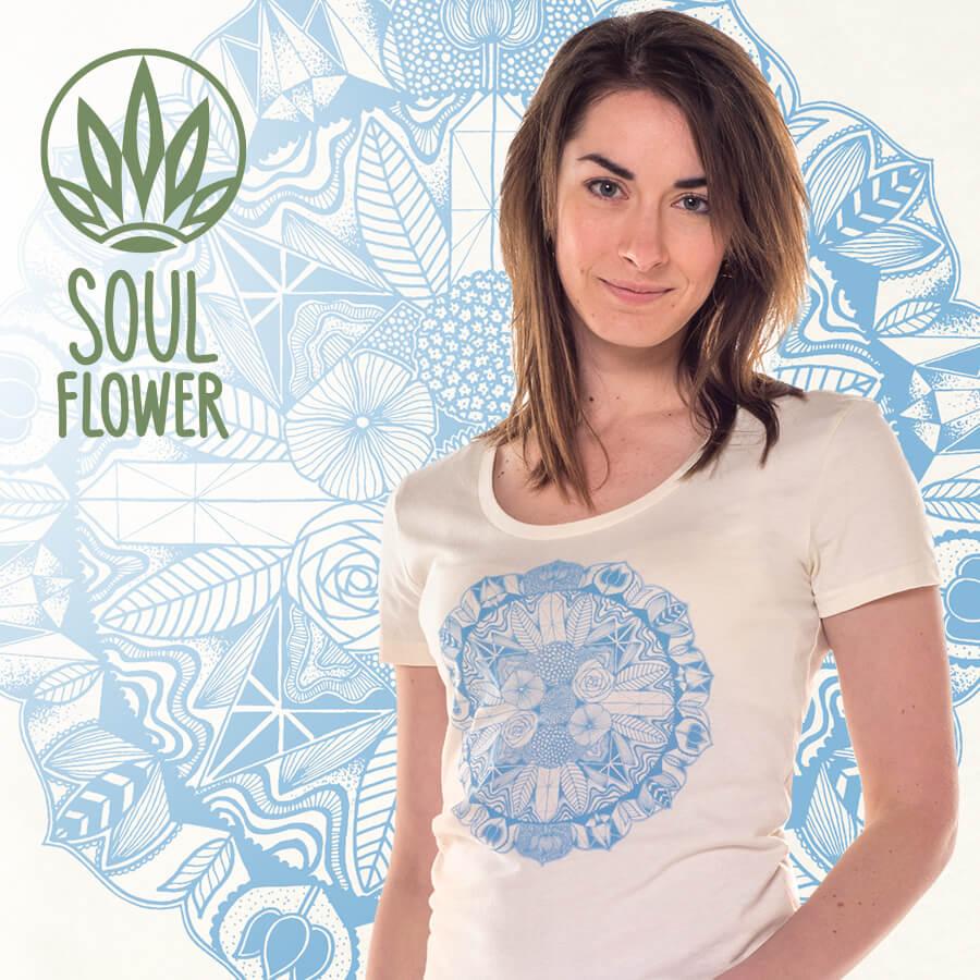 organic mandala tshirt - Behind the Art: Sacred Place Mandala