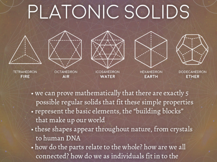platonic 760x570 - Platonic Solids Meaning - Sacred Geometry