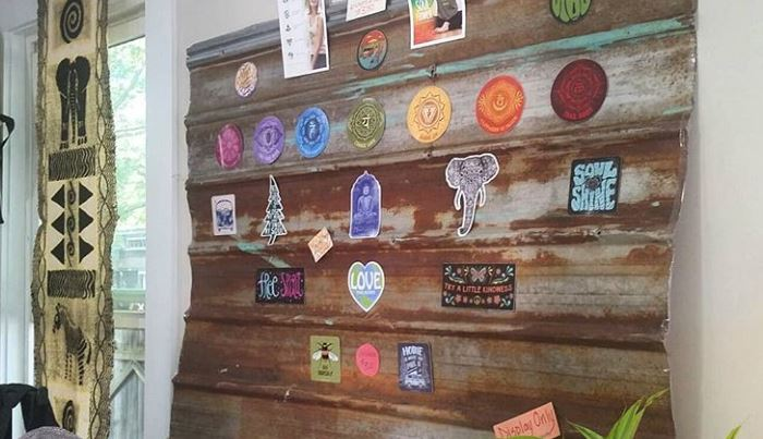 Sticker Display Ideas - DIY Sticker Display Ideas