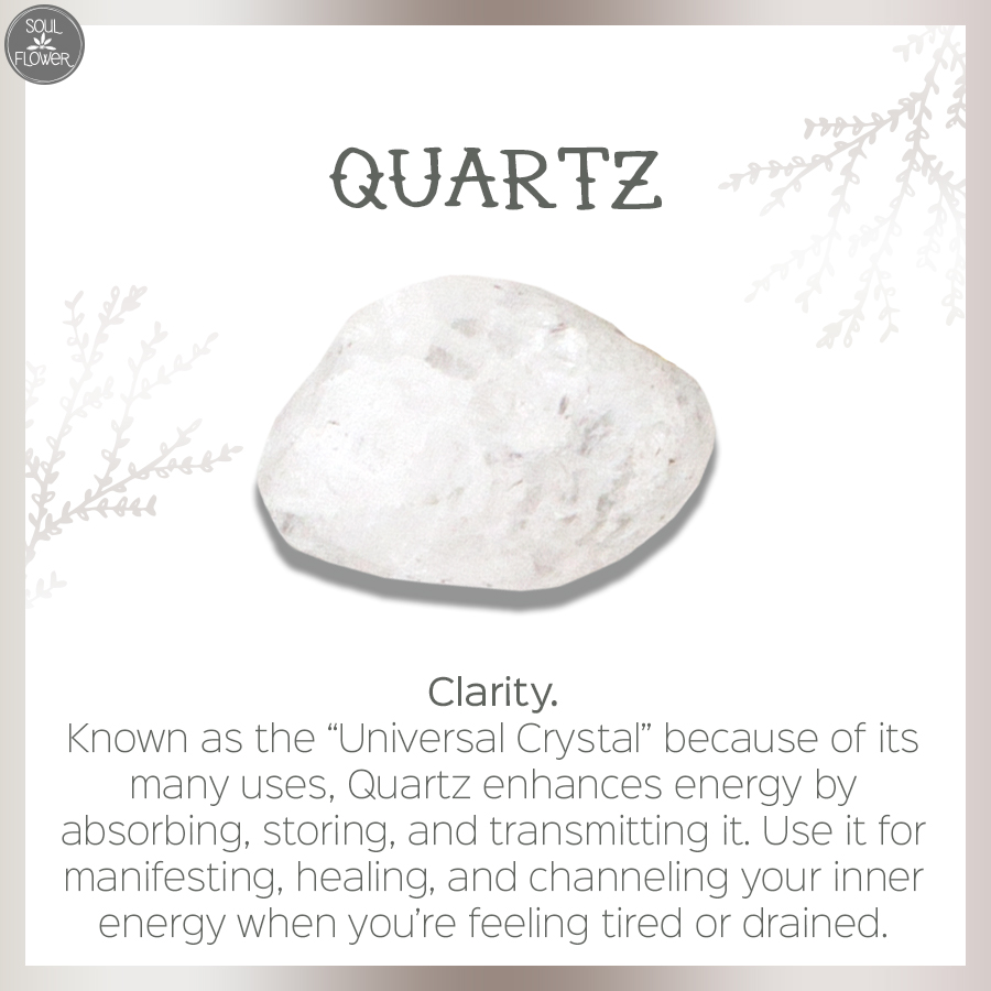 quartz - which crystal speaks to your soul?