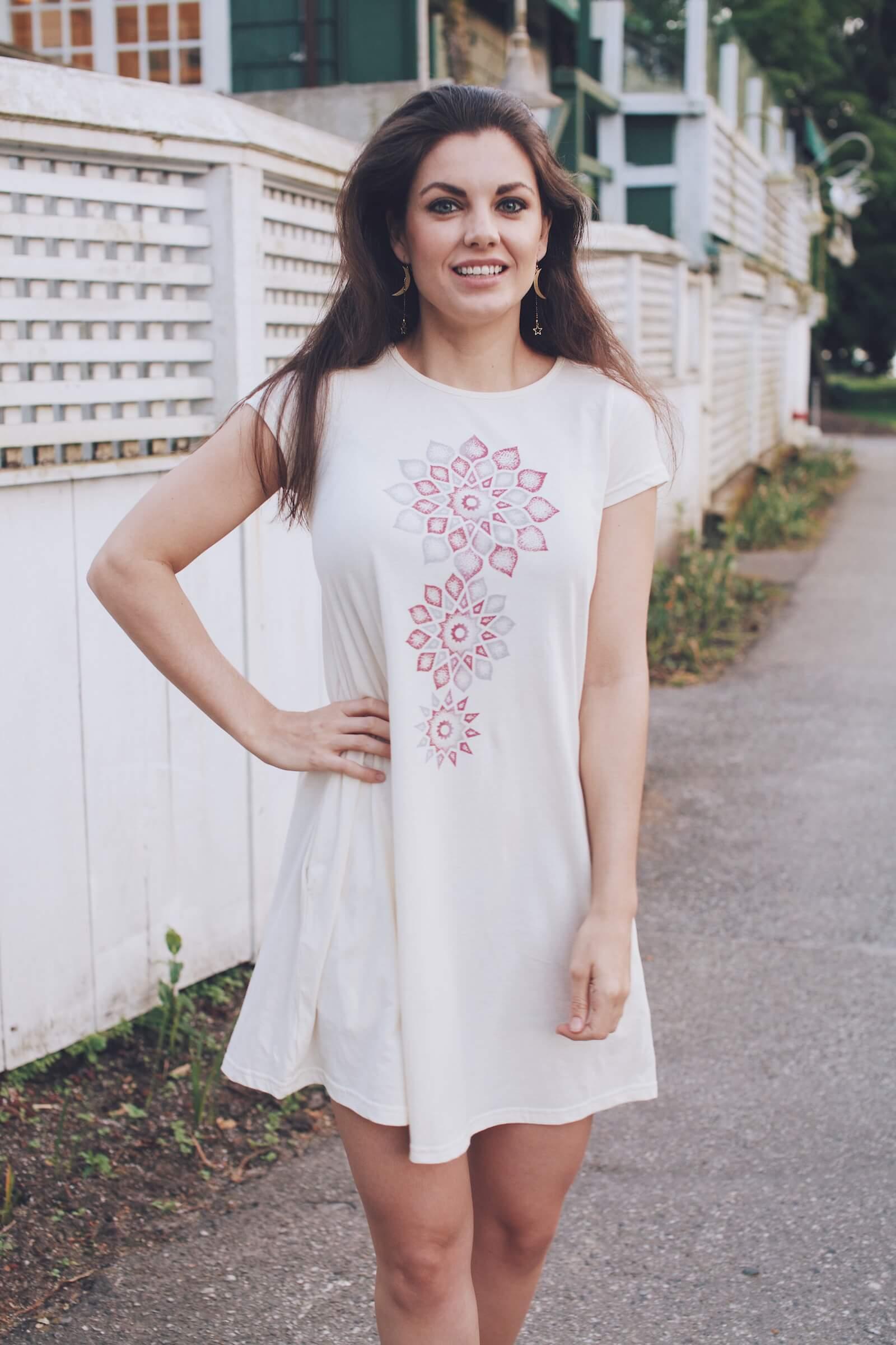 rachaels journal soul flower hippie style blog post dress - Best T Shirt Dress for Summer
