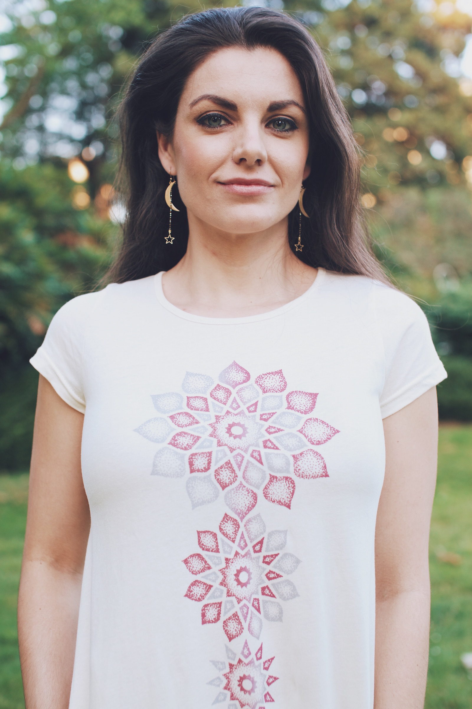 rachaels journal soul flower hippie style moon jewelry - Best T Shirt Dress for Summer
