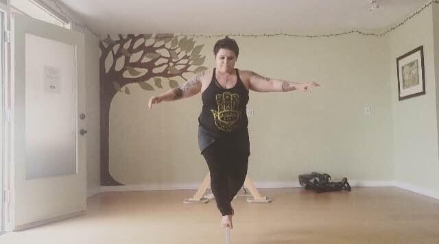 rebecca slackline 2 640x356 - Finding Balance Amidst a New Adventure
