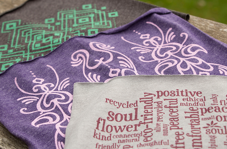 Recycled Polyester at Soul Flower