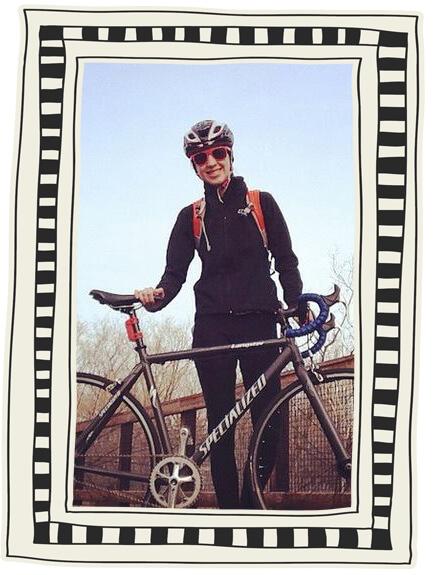 renee bike2 - 5 Simple Ways to be More Eco-Friendly