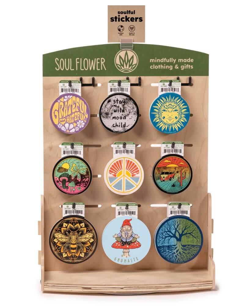 retail diplay idea 2 - DIY Sticker Display Ideas
