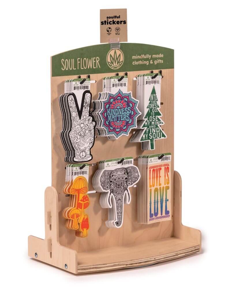 retail display idea 1 - DIY Sticker Display Ideas