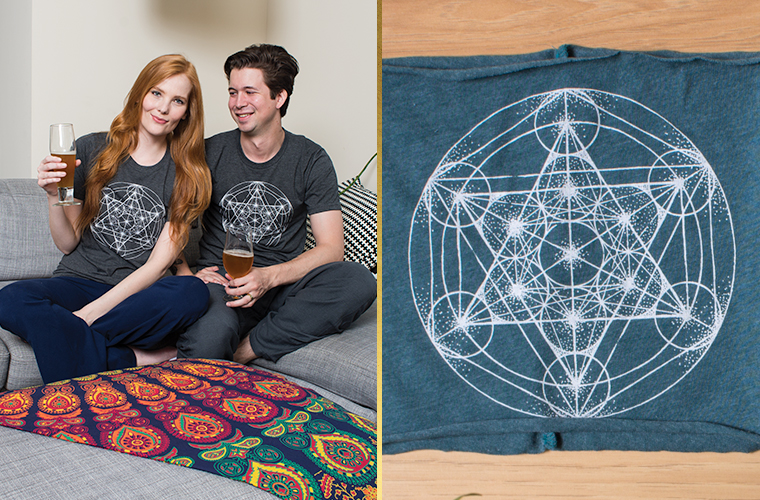 Metatron's Cube Shirt - Metatron's Cube Meaning