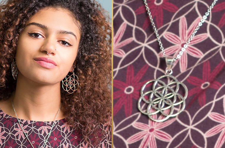 Flower of Life Jewelry - Flower of Life Clothing