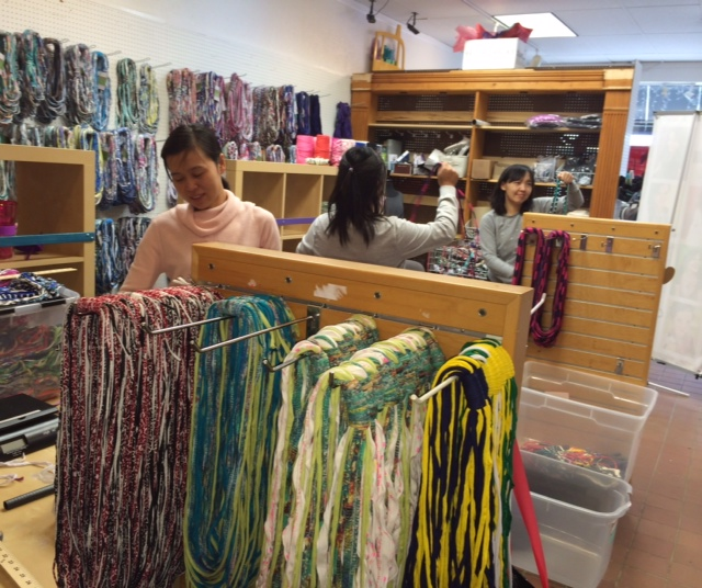 Interview with Allison of Shred Scarves