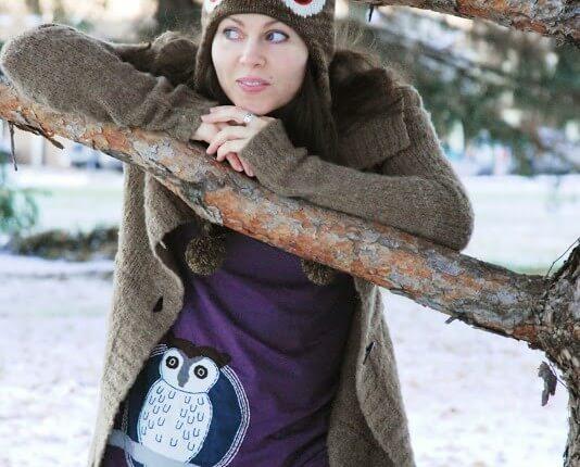 snowy owl 534x430 - Woot! Snowy Owl Organic Tunic